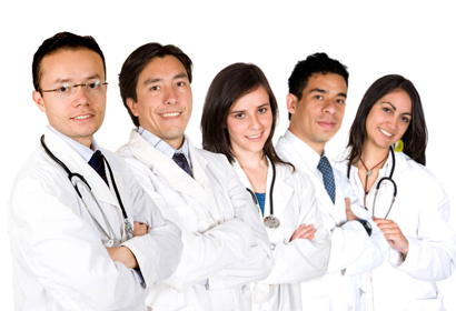 Đội ngũ y bác sĩ tại phòng khám Thái Hà